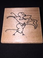 Stampendous! Max & Friend D163 Wood Mounted Rubber Stamp 2007