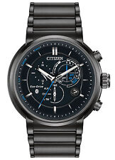 Citizen Eco-Drive Proximity Perpetual Calendar Black Dial Men's Watch BZ1005-51E
