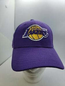 Los Angeles Lakers New Era Core Classic 9FORTY Adjustable Hat - Purple YOUTH