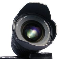 Nikon AF: Sigma ex 2,8/24-70 Nikon AF-D * FX lens formato completo