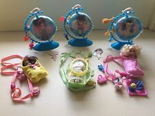 Lot of 6 Peekaboo Petites Mini Barbie Dolls 3 Girls Of The World & 3 Others VGC