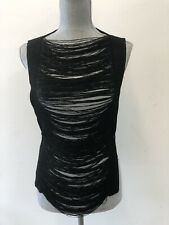 Pamplona Sexy Black Top OS (small) Womens