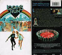 Logan's Run VHS Video Tape New Michael York Jenny Agutter Michael Anderson