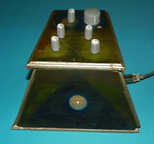Drone Noise Synthesizer with Hand Painted Wooden Enclosure  Synth Cedario 2.1