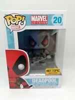 Funko Pop Vinyl - Deadpool (Hot Topic ) - 20 - Marvel