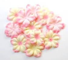 Flower Embellishment ~BEGONIA Delphinium PETALS~ Multi Color 40p