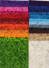 "Kaufman Sunstreaks Bright Yellow Red Blue Green Purple 5"" Charm Squares Fabric"