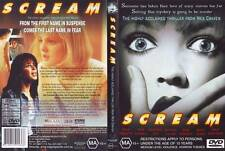 Scream (DVD, 2000) Region 4 Horror Mystery Thriller DVD Rated MA Used in VGC