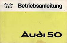 AUDI   NSU   50   Betriebsanleitung   Handbuch   1977   Bedienungsanleitung   BA