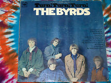 THE BYRDS Turn! Turn! Turn! COLUMBIA RECORDS 1965 VG+ hard to find MONO pressing