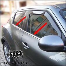 Strisce cromate sotto finestrini Nissan Juke profili cromati cornici acciaio