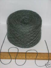 50g ball mid Green acrylic knitting wool yarn 2 ply with soft sheen Forsell 422