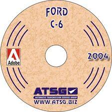 ATSG Ford C6 Transmission Rebuild Instruction Service Tech Manual