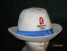 Beijing 2008 Olympic Hat (NEW) White / One Size Fits All / Unisex