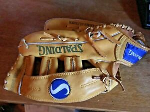 VINTAGE SPALDING COMPETITION SERIES BASEBALL GLOVE 12.5 INCH RHT