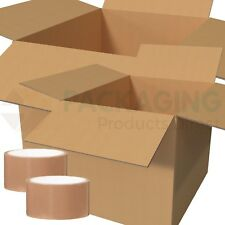 10 XXL Storage Packing House Removal Double Walled X- STRONG Cardboard Boxes