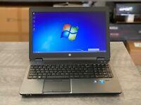 HP Zbook 15, Intel Core i7 CPU, 1TB, 16GB RAM, 1920x1080, nVIDIA Quadro