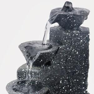 Table Waterfall Fountain Zen Meditation Indoor Waterfall Feature Home Decor