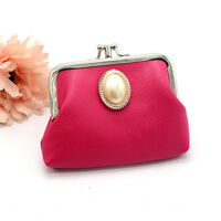 Classic Fashion Women Leather Lady Wallet Hasp Purse Clutch Bag Mini Coin Purse