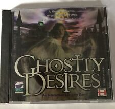 New Ghostly Desires: An Interactive CD ROm Game for Mac/PC 1995 Free Shipping!!!