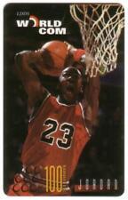 20u, 30u, 60u, 100u Michael Jordan: Mag-Stripe. Set of 4 Diff Poses Phone Card