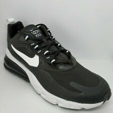 New Nike Air Max 270 React Shoes in Black/White Black Colour Size 9