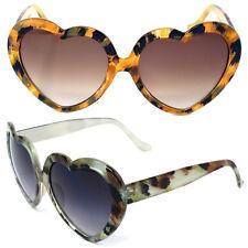 US Women Lovely Heart Shape Sunglasses Halloween Retro Sun Glasses UV400