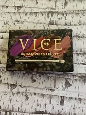Urban Decay Vices Lip Kit Palette New