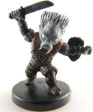 D&D mini DERRO (Warrior) War Drums 46 Dungeons & Dragons Pathfinder Miniature nc