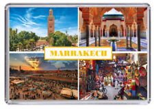 Marrakech, Morocco Fridge Magnet 01