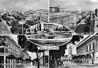Cartolina - Postcard - Saluti da - Latina  - Vedutine - 1953