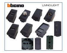 BTICINO LIVING INTERNATIONAL COMPATIBILE PRESA SCHUKO TV PULSANTE DEVIATORE USB