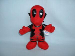 "DEADPOOL BLEACHER CREATURES 8"" Cuddly Soft Plush Toy MARVEL UNIVERSE/2/SUPERHERO"
