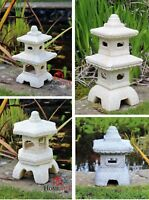 "9.5/"" Mitsukai Asian Ceramic Pagoda Lantern Japanese Bonsai Garden Decor 76-1"