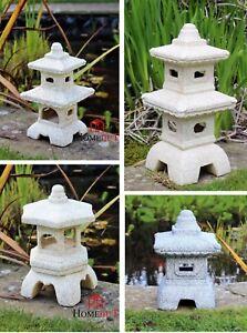 Garden Ornament Lantern Pagoda Chinese Japanese  Sculpture Lantern decor Lawn