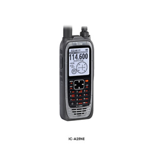 ICOM IC-A25NE AIRBAND RADIO WITH BUILT IN GPS AND BUILT IN BLUETOOTH