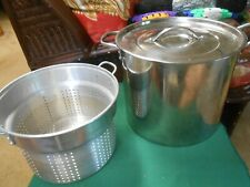 Great Large STAINLESS  STEEL Cookware POT with FREE Strainer