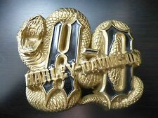 Harley Davidson Brass Python Belt buckle
