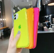 ✔ Neon ✔ Bright Colors ✔ Bold Retro Case ✔ Soft Gel Cover ✔ UV  ✔ For iPhone
