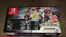 NEW Super Smash Bros Brothers Ultimate Nintendo Switch Console Bundle with Game