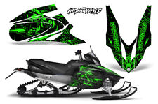 Yamaha APEX XTX Decal Wrap Graphic Kit Sled Snowmobile 2006-2011 NIGHTWOLF GREEN
