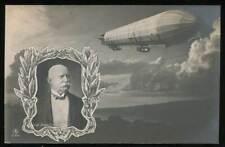644950) Zeppelin AK mit Zeppelin und Graf Zeppelin gelaufen 1908