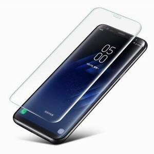 For Samsung Galaxy Note 10 S10 S9+ Tempered Glass Screen Protector Case Friendly