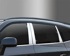 Auto Clover PVC Chrome B Pillar Sticker Trim for SsangYong Rexton 2003 - 2017