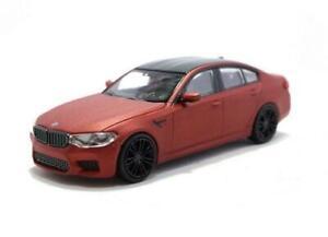 BMW M5 - 2018 - MATT RED 870028004 Minichamps 1:87 New!