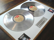 THE BEE GEES SATURDAY NIGHT FEVER DOUBLE LP PLATINUM DISC RECORD AWARD ALBUM