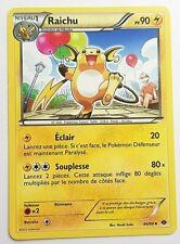 Carte Pokémon N°40/99 Raichu Noir et Blanc Destinées Futures VF