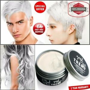 Hair WAX Temporary Hair Color Dye One Time Coloring Hairs Styling Good Dye New