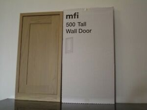 mfi Kelmscott Howdens Haworth SOLID OAK KITCHEN 500mm TALL WALL DOOR KO75