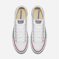 Converse Womens unisex Chuck Taylor All star Low Top Lace Up, White, Size 13.0 C